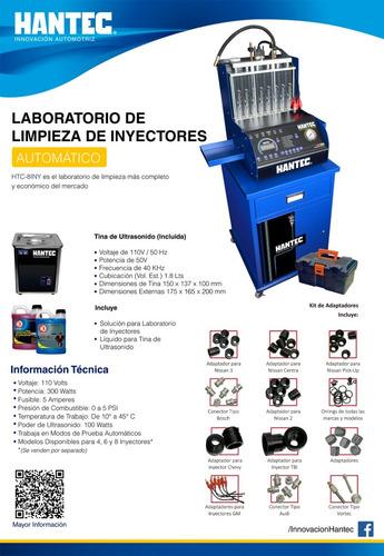 laboratorio inyectores  8 automático + adaptadores