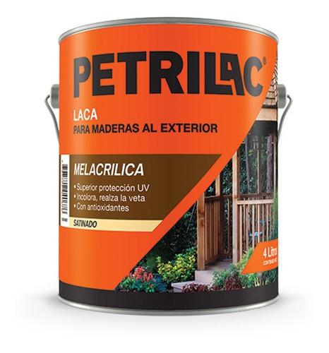 laca melacrilica petrilac ext/int doble filtro 1lt pintumm