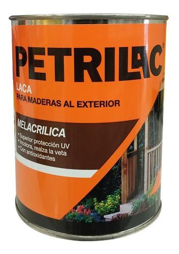 laca melacrilica petrilac ext/int doble filtro x 4lt pintumm