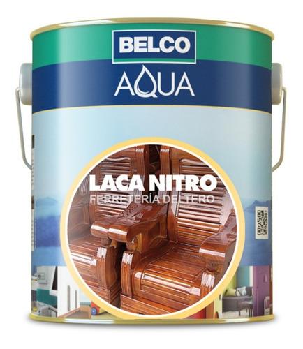 laca nitro nitrocelulósica maderas 900 ml brillante - belco
