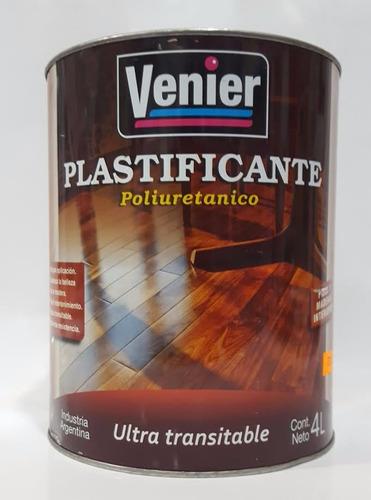 laca plastificante poliuretanico para pisos venier x4 litros