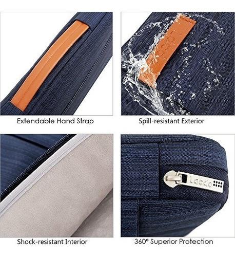 lacdo 360â ° protective laptop sleeve case maletín para 15.6