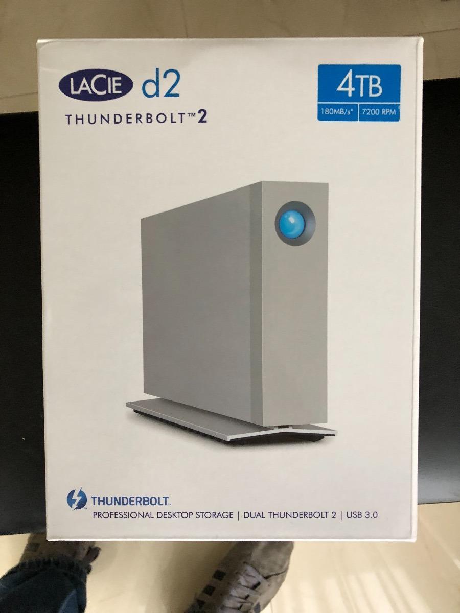 Lacie D2 / 4tb / Thunderbolt 2 / Usb 3 0 / Disco Duro - $ 4,800 00