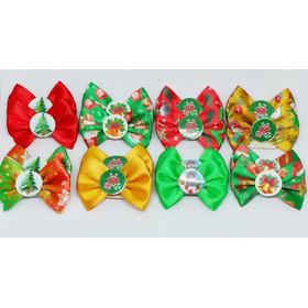 Lacinhos E Gravatas Pet Kit Natal Banho E Tosa 200 Und