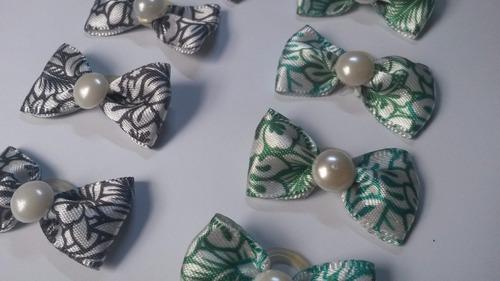 laços pet - kit laços floral - 30 unidades