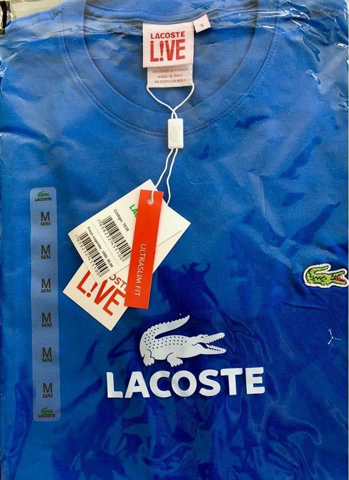 Lacoste Atacado E Revenda Kit 10 Com Frete Gratis - R  399,90 em ... 2b206971ec