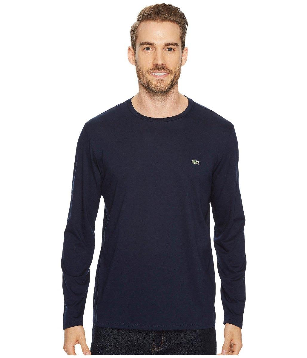 8cec5cd6ca lacoste camiseta tamanho m masculina manga longa. Carregando zoom.