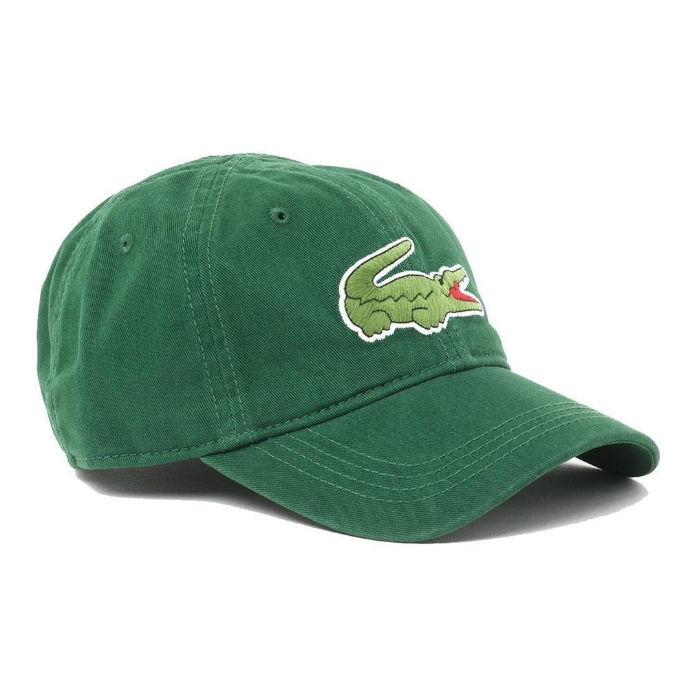 d4912de49 lacoste gabardine cap with oversized crocodile. Carregando zoom.