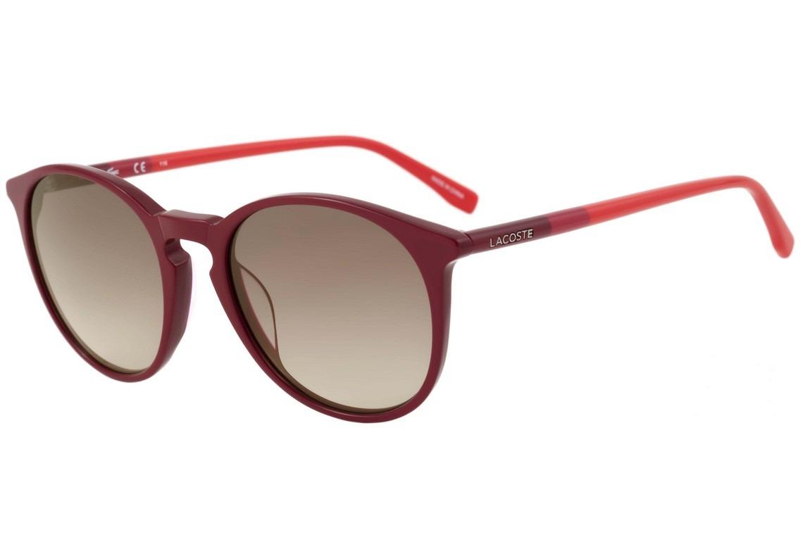 lacoste l 786s - óculos de sol 615 vinho e vermelho brilho . Carregando  zoom. 741dfd4eaf