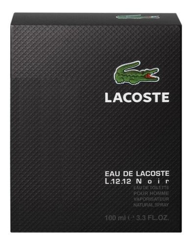 lacoste l.12.12 noir perfume masc. edt 100ml - blz