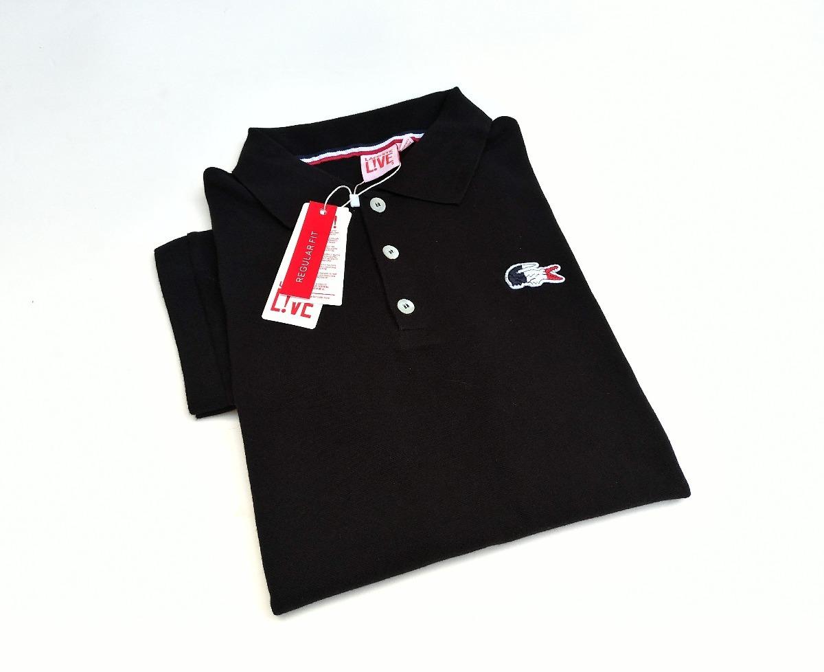 cdcaabe999229 Lacoste Live Camisa Polo - R  89,90 em Mercado Livre