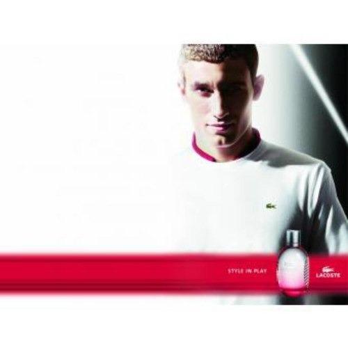 lacoste red - lacoste - pour homme - eau de toilette 125 ml.