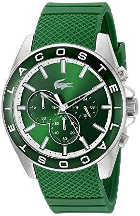 lacoste 'westpoint' cuarzo multicolor casual watch (modelo