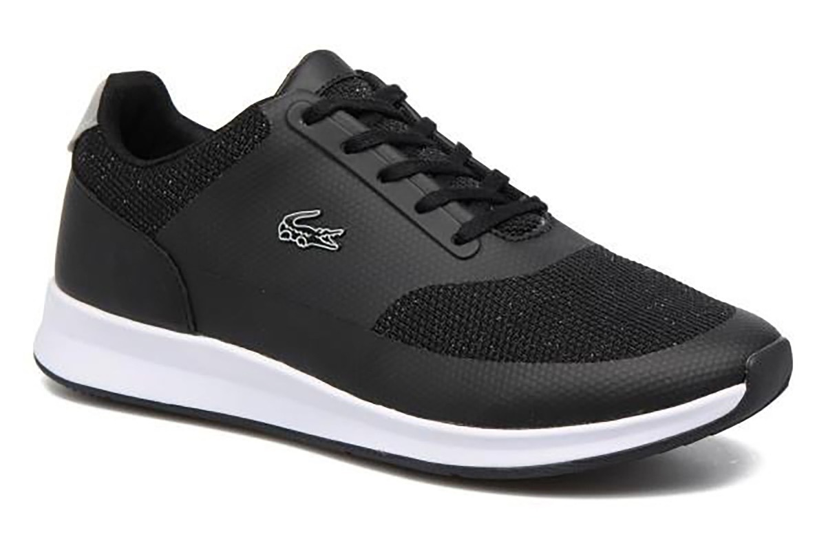 4a6245b2869d Lacoste Zapatillas Mujer Negras Y Blanco, Chaumont Lace