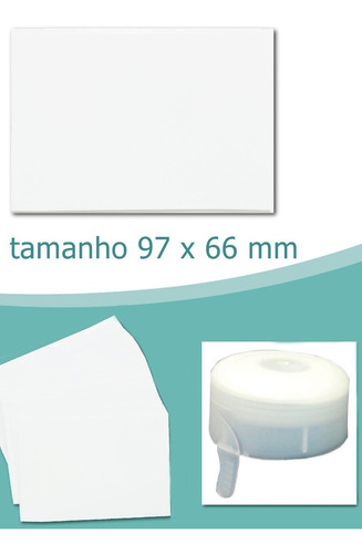 lacre 97 x 66 mm branco
