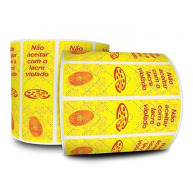 Lacre De Segurança Para Caixa De Pizza - Milheiro