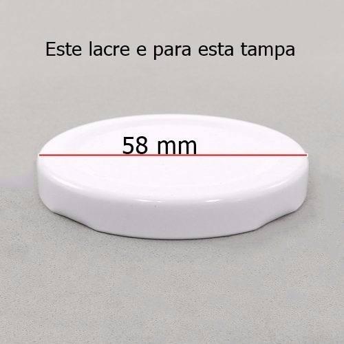 lacre termoencolhivel 58 mm