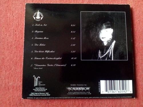 lacrimosa - angst digipack cd nac ed 2002 mdisk