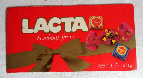 lacta chocolate bombons propaganda antiga