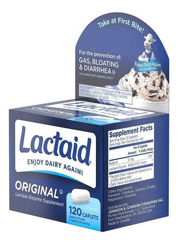lactaid original strength lactase enzyme - 120 caps