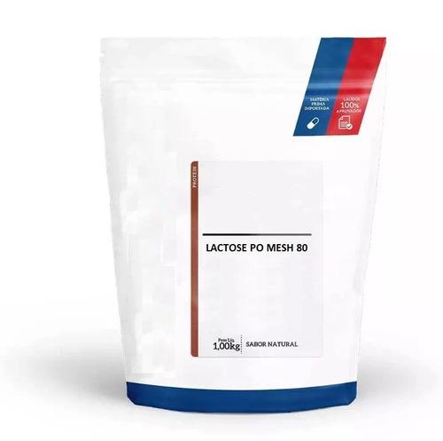 lactose po mesh 80 pura laudado 1 kg power