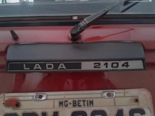 lada laika station 1991 vermelho rat look antigo coleção