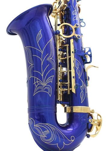 lade brass grabado eb e-flat saxofón alto saxofón