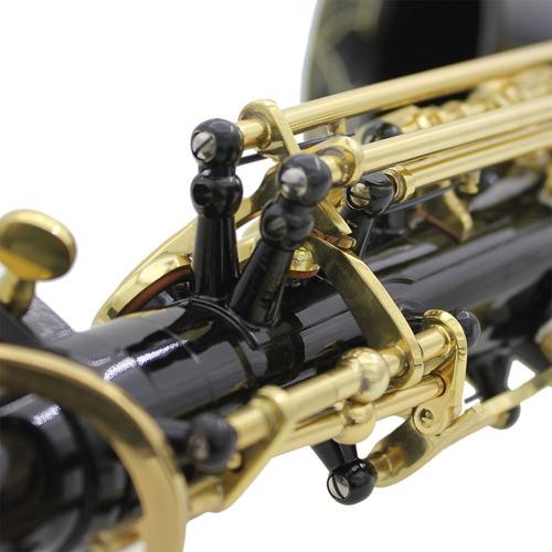 lade e-flat botones de concha de abulón saxofón alto