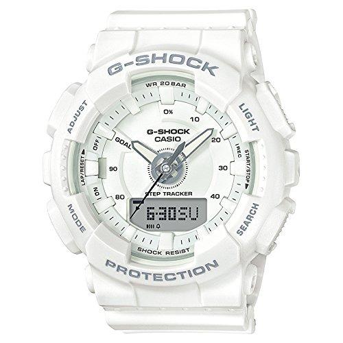 55ab8fb0192c Ladies  Casio G-shock S-series White Step Tracker Watch Gma ...