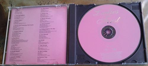 ladies first varios cd 2001 cher,donna summer,gloria gaynor