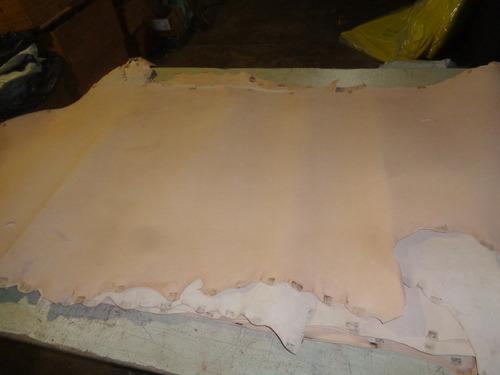 lado de cuero vaqueta 2 mm 1ra selección. 2 metros cuadrados