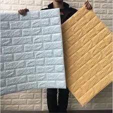 ladrillo autoadhesivo pared 3d placa de espuma papel tapiz