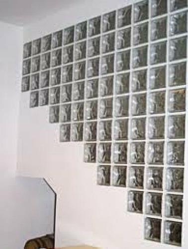 ladrillo de vidrio 19x19x8 ladrillos baldara elegante diseño