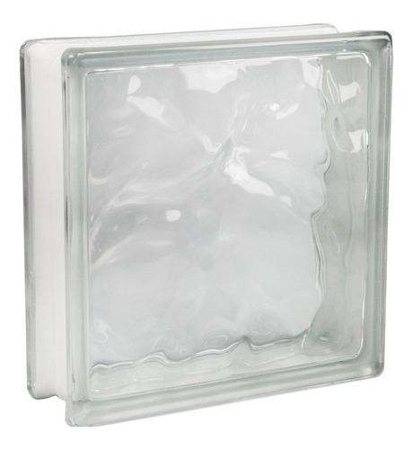 ladrillo de vidrio nube 19x19x8 cm ladrillos maxima calidad