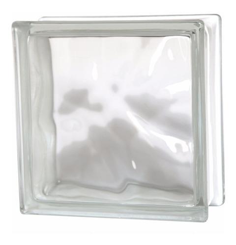 ladrillo de vidrio nube (x2 unidades), cerámicas castro.