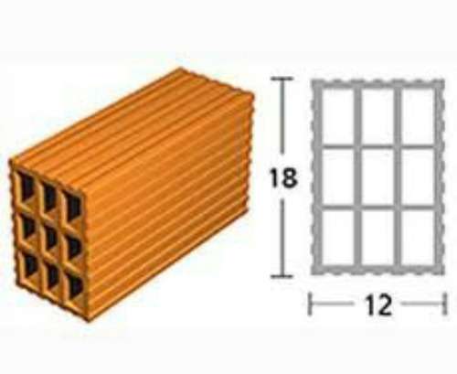 ladrillo hueco 12x18x33 9 tubos