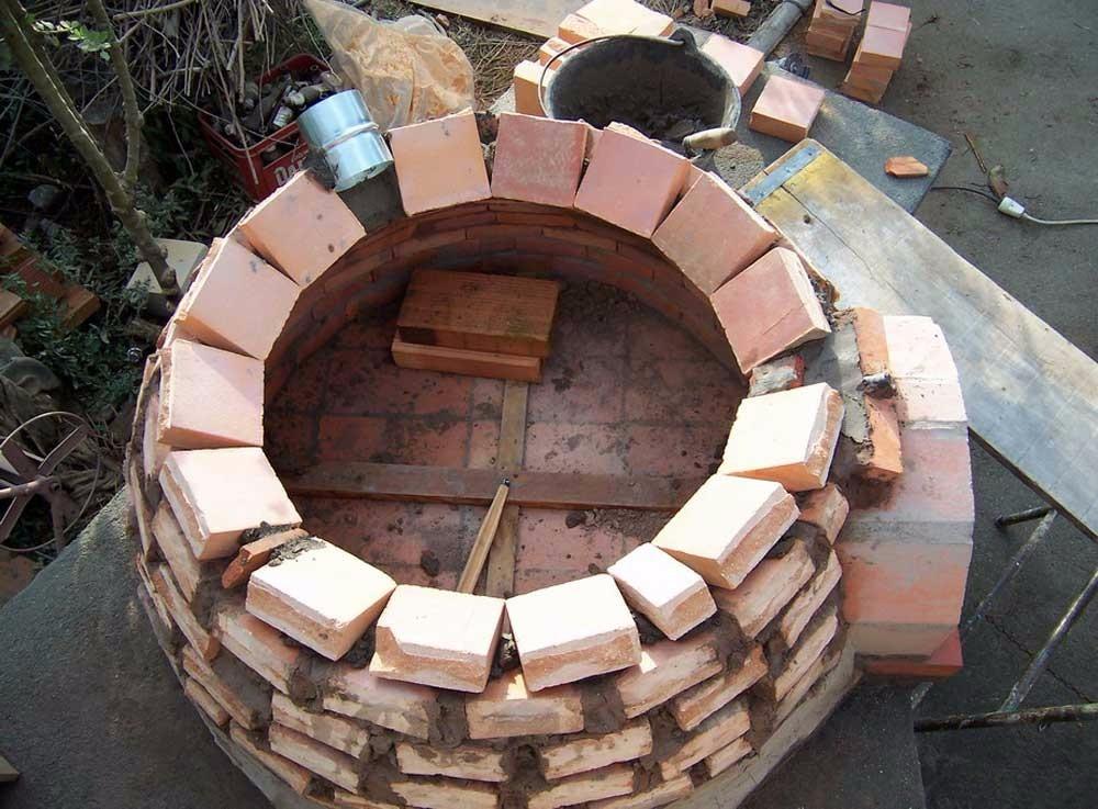 Ladrillo refractario hornos pizza parrilleras fundicion for Como construir un horno