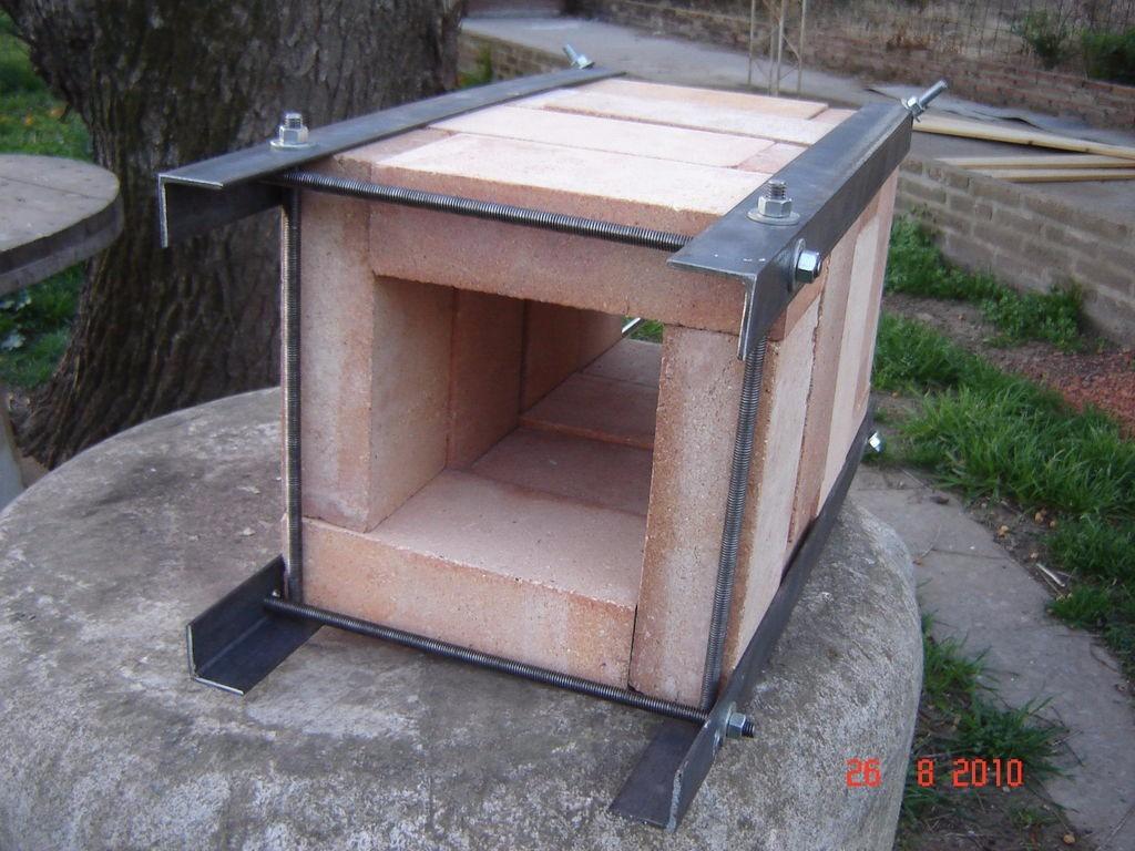 Ladrillo refractario hornos pizza parrilleras fundicion for Construir una pileta de ladrillos