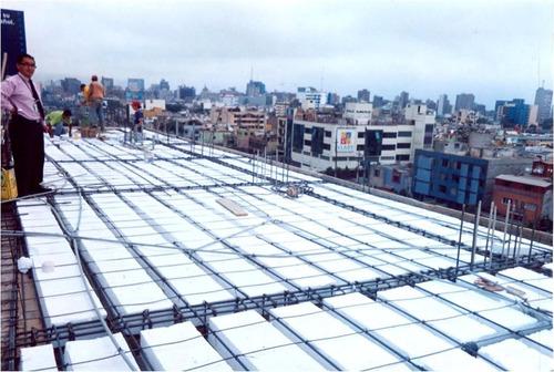 ladrillo techo 12 caseton tecnopor 12 x 30 x 120 cms caseton