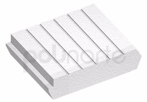 ladrillo telgopor | poliblock | techo | losa | espesor 10 cm