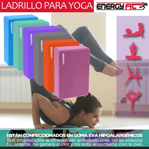 ladrillo yoga bloque taco livianos eva mejor que pvc madera