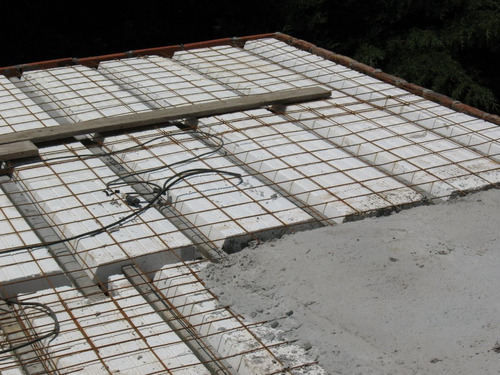 ladrillos de telgopor para techo de 10 x 42 x 100 cm