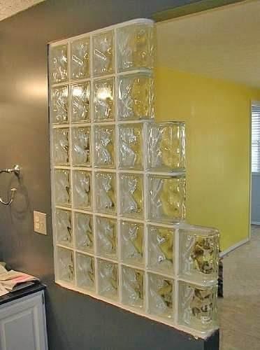 Ladrillos de vidrio nube ondulado checos 120 00 en mercado libre - Ladrillos de cristal ...