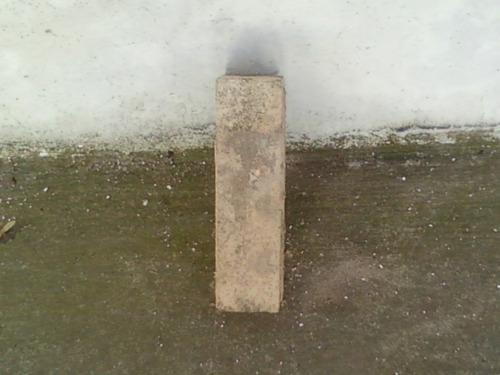 ladrillos refractarios  de 10 x15 cm