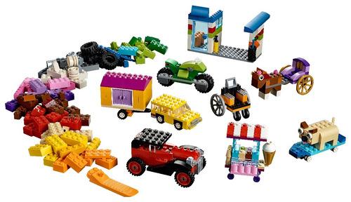 ladrillos sobre ruedas lego® (10715)