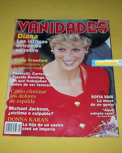lady diana thalia cindy crawford m jackson revista vanidades