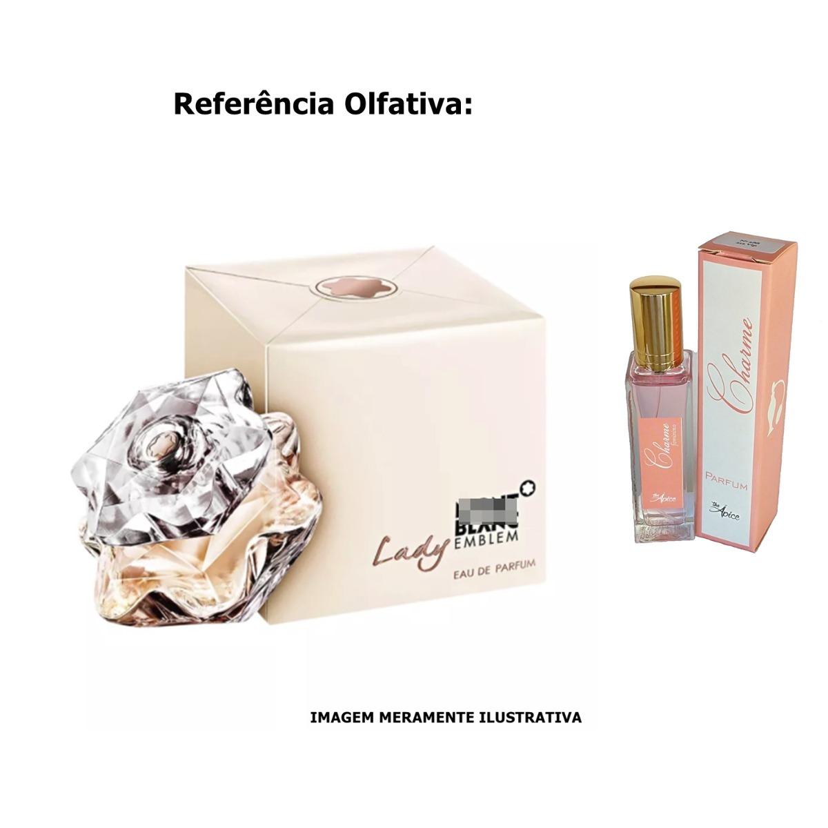 Lady Emblem Montblanc Fem Perfume De Bolsa Alta Fixao 30ml R 29 Carregando Zoom