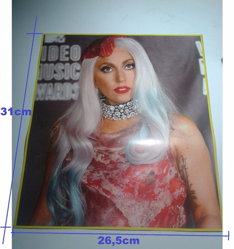 lady gaga. afiches/posters