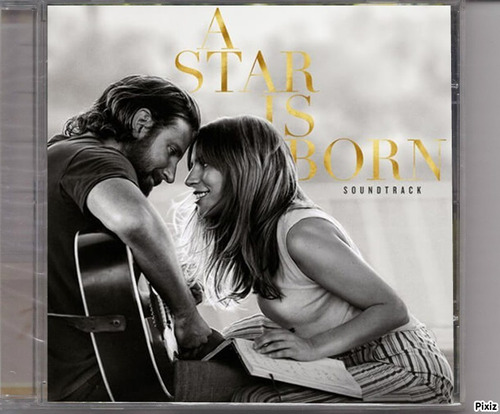 lady gaga / bradley cooper cd a star is born (2018) original