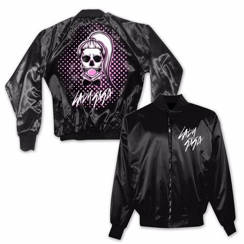 lady gaga - bubble skeleton gaga jacket